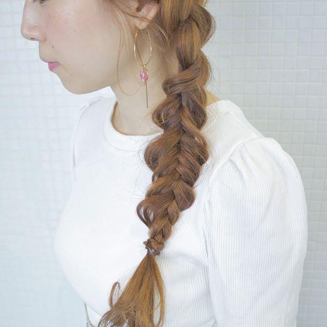 おしゃれなまとめ髪アレンジ特集35