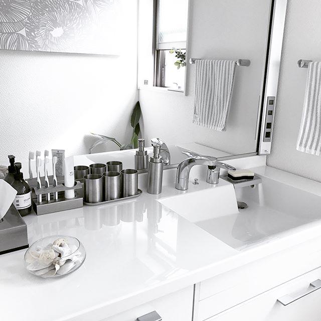 洗面所のコップ収納9