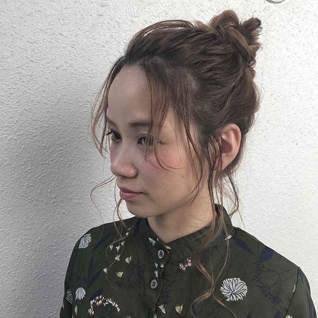 おしゃれなまとめ髪アレンジ特集55