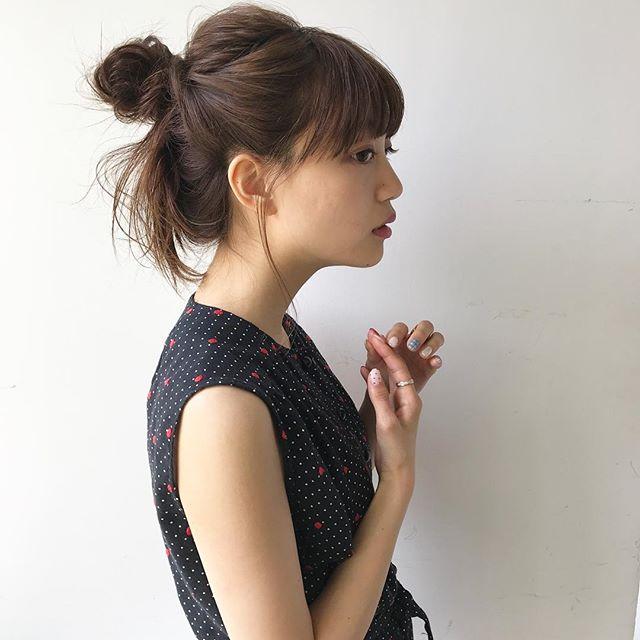 おしゃれなまとめ髪アレンジ特集13