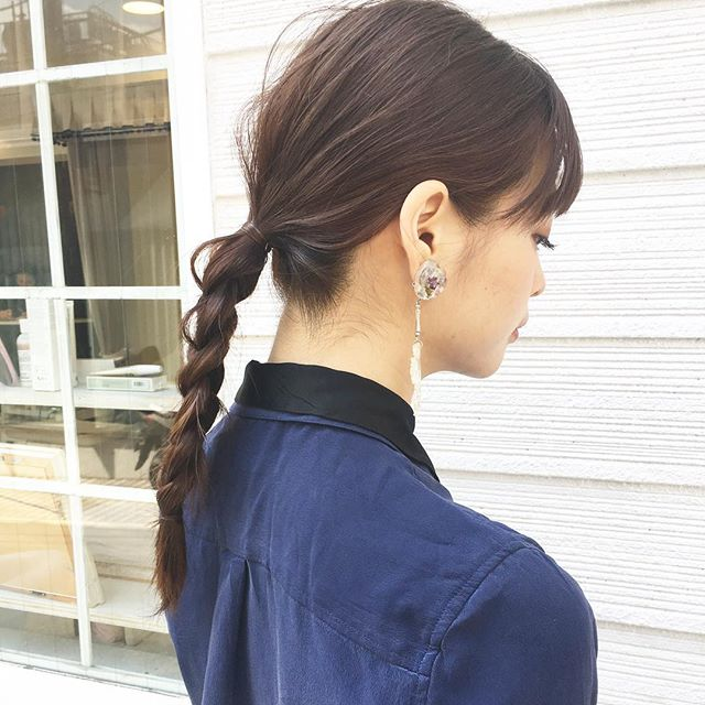 おしゃれなまとめ髪アレンジ特集49