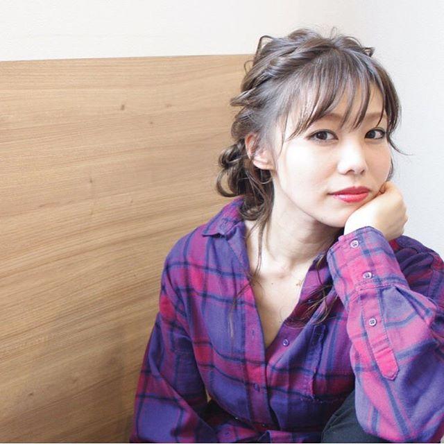 おしゃれなまとめ髪アレンジ特集44