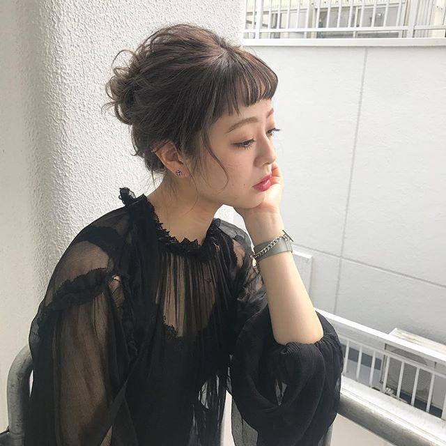 おしゃれなまとめ髪アレンジ特集46