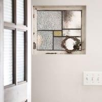 ガラスにこだわりをプラスして。暖かみのある空間作りをしよう♡