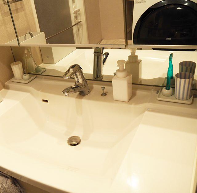 洗面所のコップ収納7