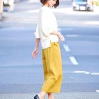 短め丈で抜け感UP♡オトナ女子のアンクル丈&クロップドパンツの春夏コーデ15選
