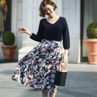 大人女子はこう着こなす!今どきの花柄スカートコーデ15選♡