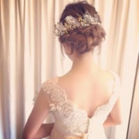 ブライダルシーズンにおすすめ♡ウエディングドレスにもカラードレスにも似合う花嫁さんヘア♪
