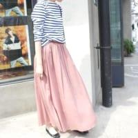 涼しくて楽チン!春夏にいっぱい着たいマキシ丈スカートコーデ♪