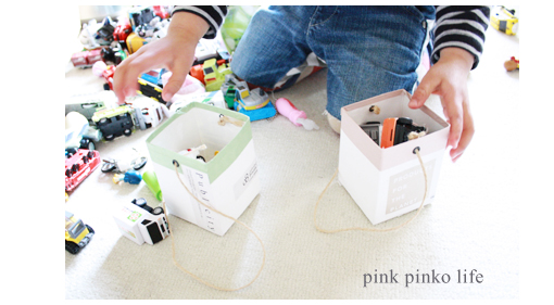 こどものおもちゃや文房具の収納アイデア