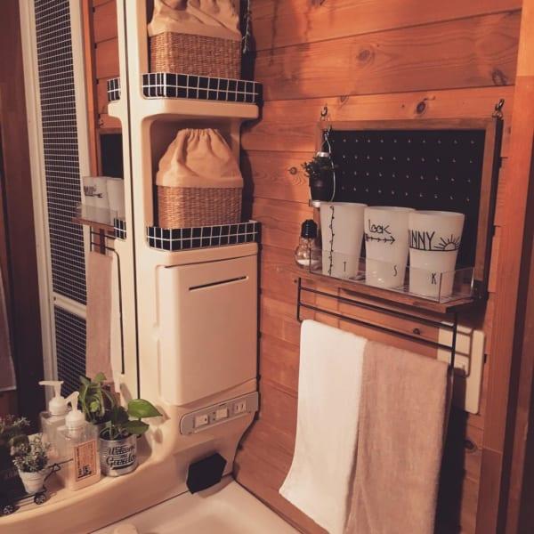 洗面所のコップ収納3