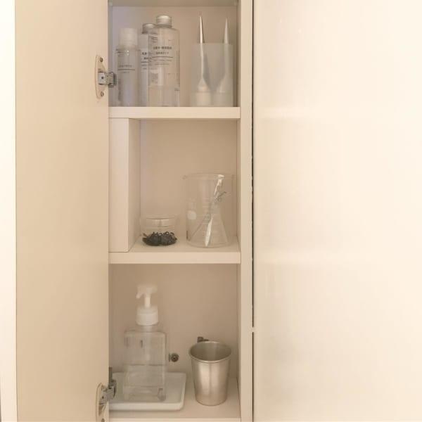 洗面所のコップ収納