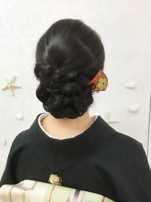 留袖の髪型51選!フォーマルな和装ヘアスタイルをシーン別