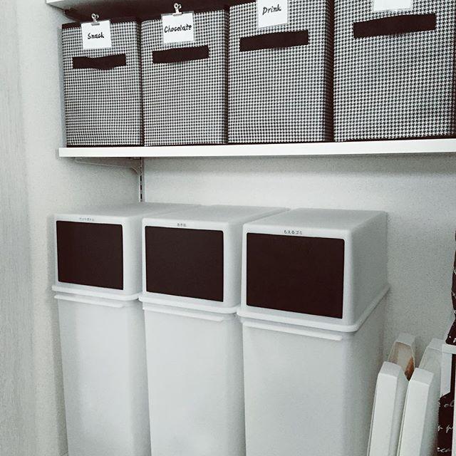 キッチンゴミ箱の収納アイデア!13