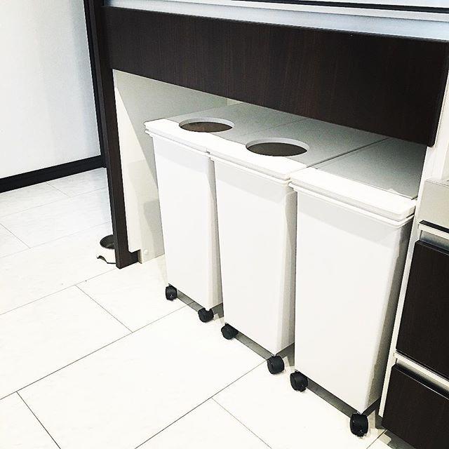 キッチンゴミ箱の収納アイデア!5