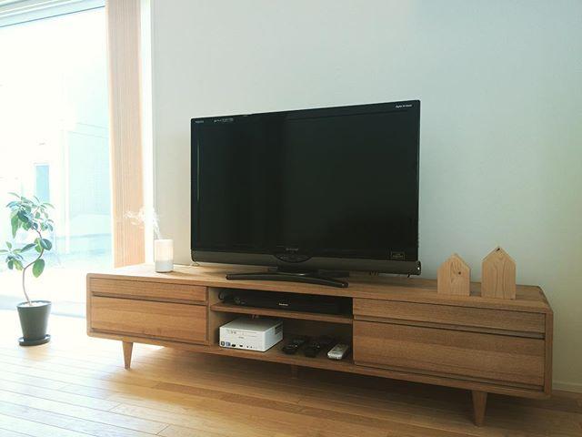 テレビボード ナチュラルインテリアの設置実例10