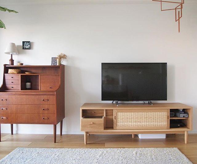テレビボード 北欧インテリアの設置実例2