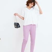 春色カラーパンツで大人スタイルを作る!色調コントロールでなりたい顔になろう♪
