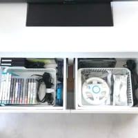 ゲーム機の収納実例集☆ソフトやコントローラーなどの付属品の収納方法もご紹介