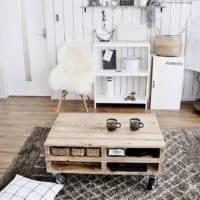 憧れのお部屋は工夫次第!木製パレットで叶えるおしゃれなお部屋をご紹介します♪