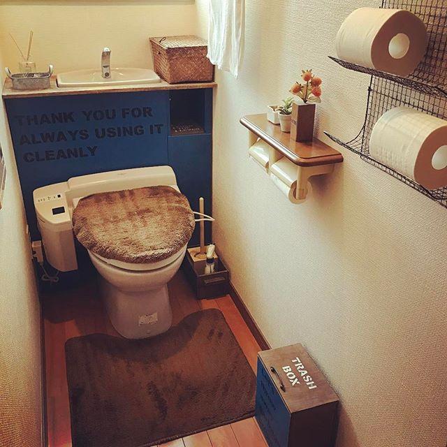 お手洗いのサニタリーボックスも「馴染み」を意識しよう