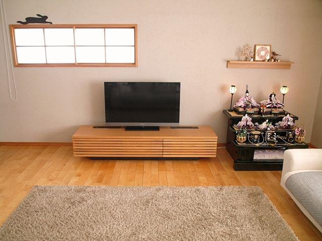 テレビボード ナチュラルインテリアの設置実例8