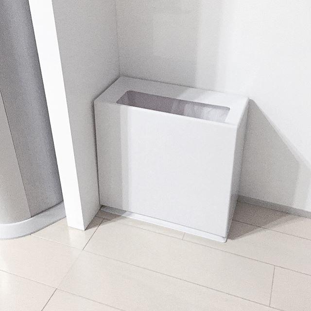 リビングなどの生活空間は「馴染み」能力が強いゴミ箱を3