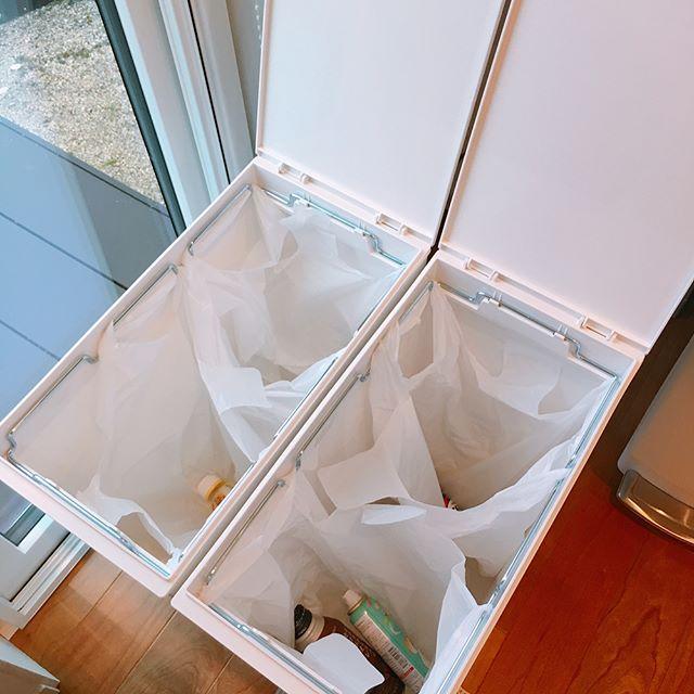 キッチンゴミ箱の収納アイデア!4