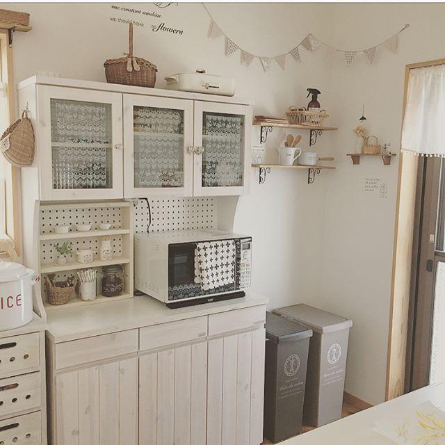 キッチンゴミ箱の収納アイデア!10