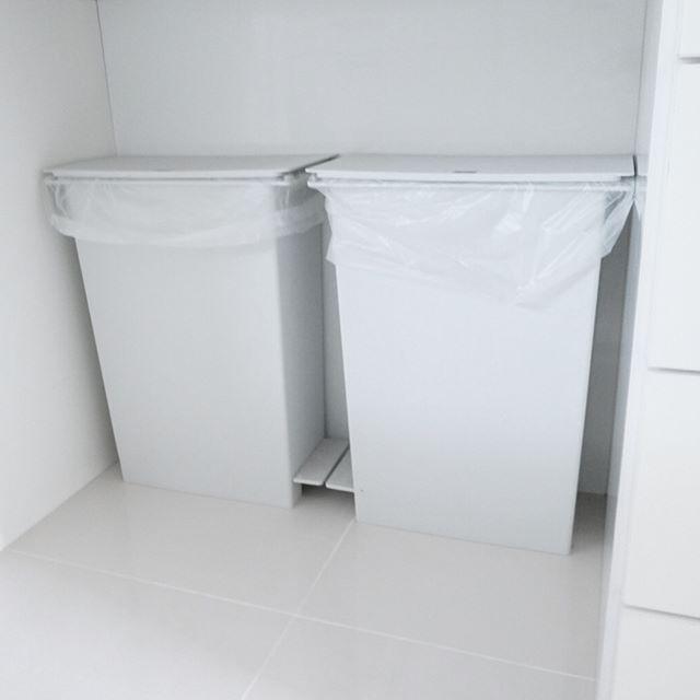 キッチンゴミ箱の収納アイデア!3