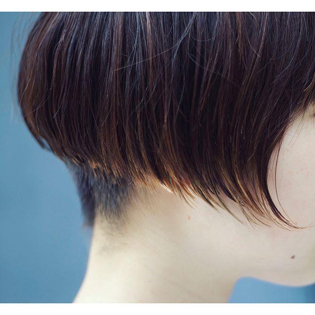 ワンレンショートヘア8