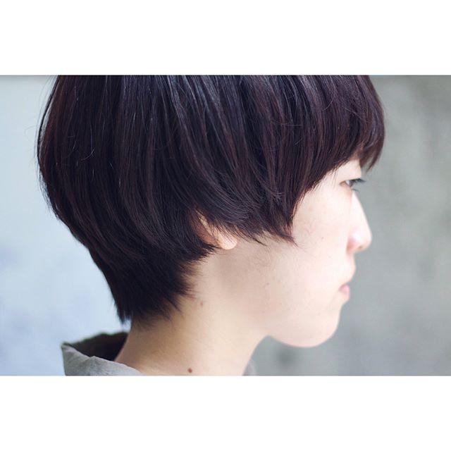 ワンレンショートヘア4