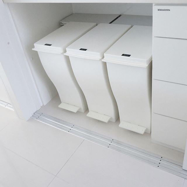 キッチンゴミ箱の収納アイデア!2