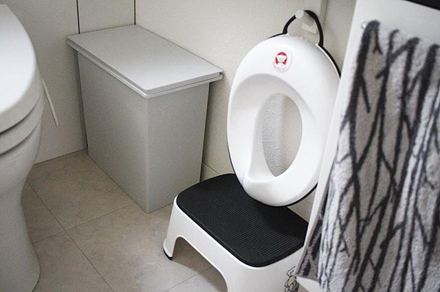 無印良品のアイテムでトイレ収納7