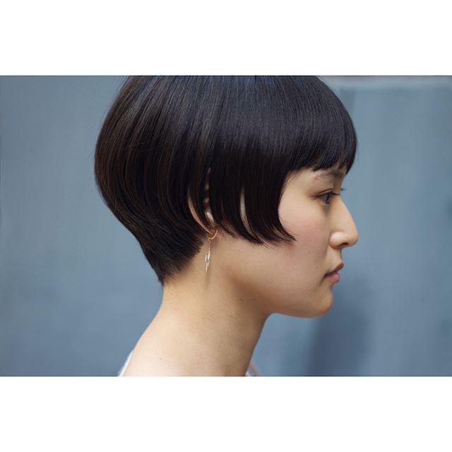ワンレンショートヘア3