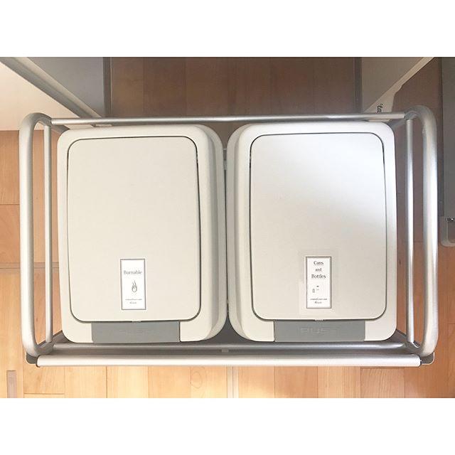 キッチンゴミ箱の収納アイデア!8
