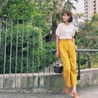 【GU】【ユニクロ】で大人気のワッフルT♡それぞれのポイントやおしゃれな着こなしとは?