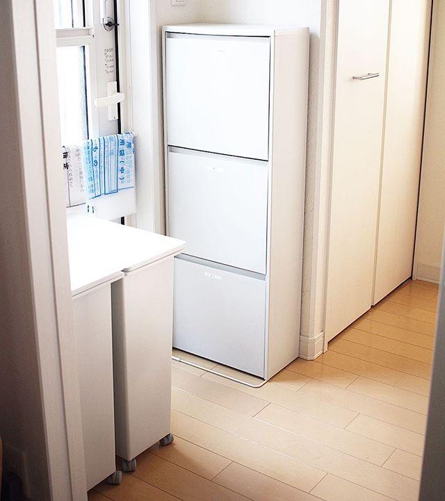 キッチンゴミ箱の収納アイデア!15