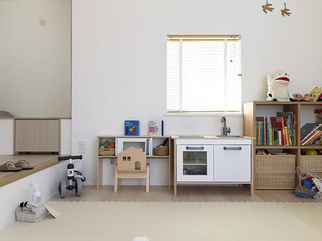 IKEAのアイテムを使用したおもちゃ収納16