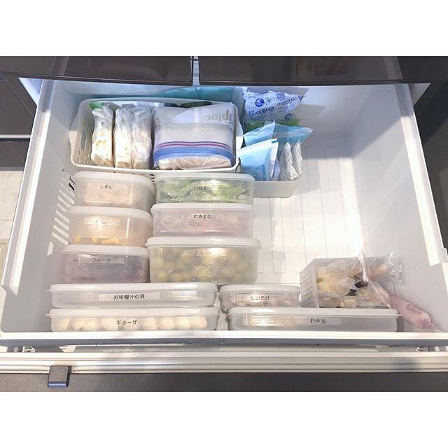 タッパー収納 冷蔵庫・冷凍庫 ラベル7