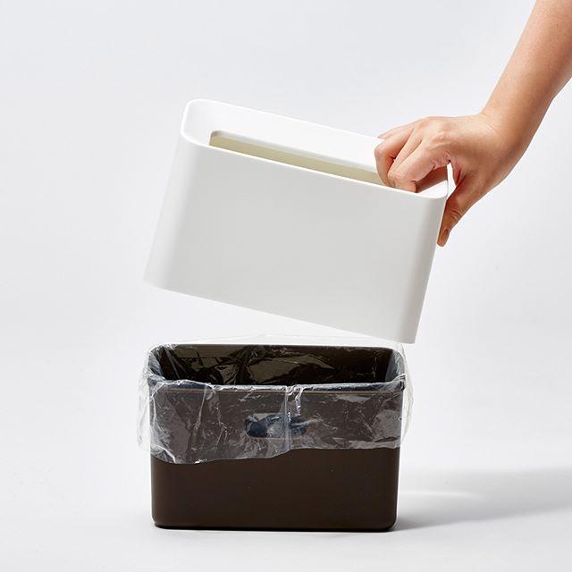 リビングなどの生活空間は「馴染み」能力が強いゴミ箱を4