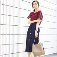 大人の日常着にプラス☆デニムタイトスカートで初夏を満喫するコーディネート15選