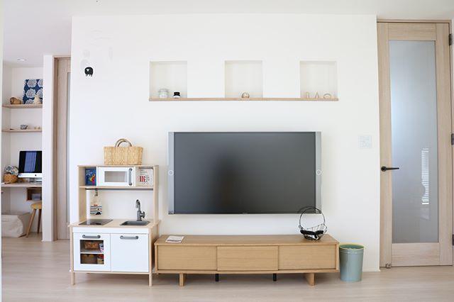 テレビボード ナチュラルインテリアの設置実例5