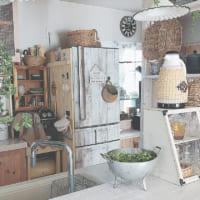 冷蔵庫をリメイクしてもっと素敵に☆カッティングシートやペイントのDIY実例集!