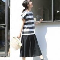 女っぽさもしっかり感じる♡スカートでレディライクなカジュアルコーデ♡