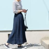 表情豊かでナチュラルな雰囲気!スラブ素材のパンツ&スカートの清涼感漂う大人の着こなし15選