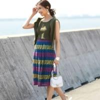 フェミニンで上品♪【レーススカート】で作る大人女子の夏コーデ特集