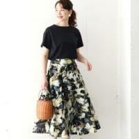 今夏のお気に入りはここで見つけて♡コーデまとまる主役級の柄スカート