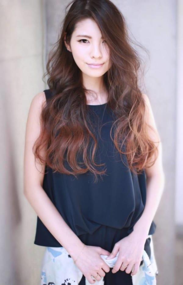 髪の美しさが際立つロング8