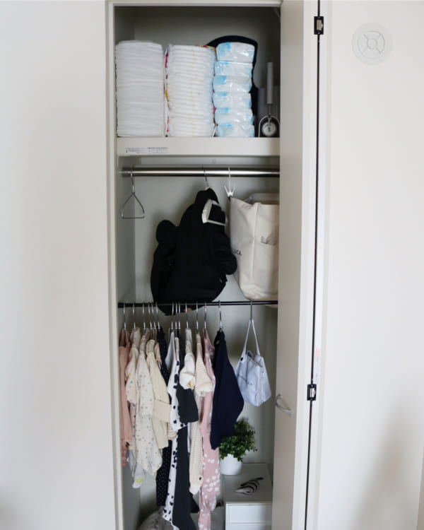 突っ張り棒 衣類収納8
